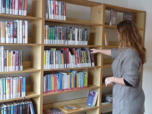 knihovna Vidonice