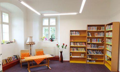 knihovna Žlunice