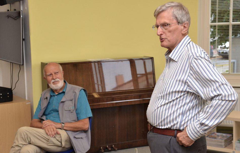 Vilém Hofman a František Větrovský
