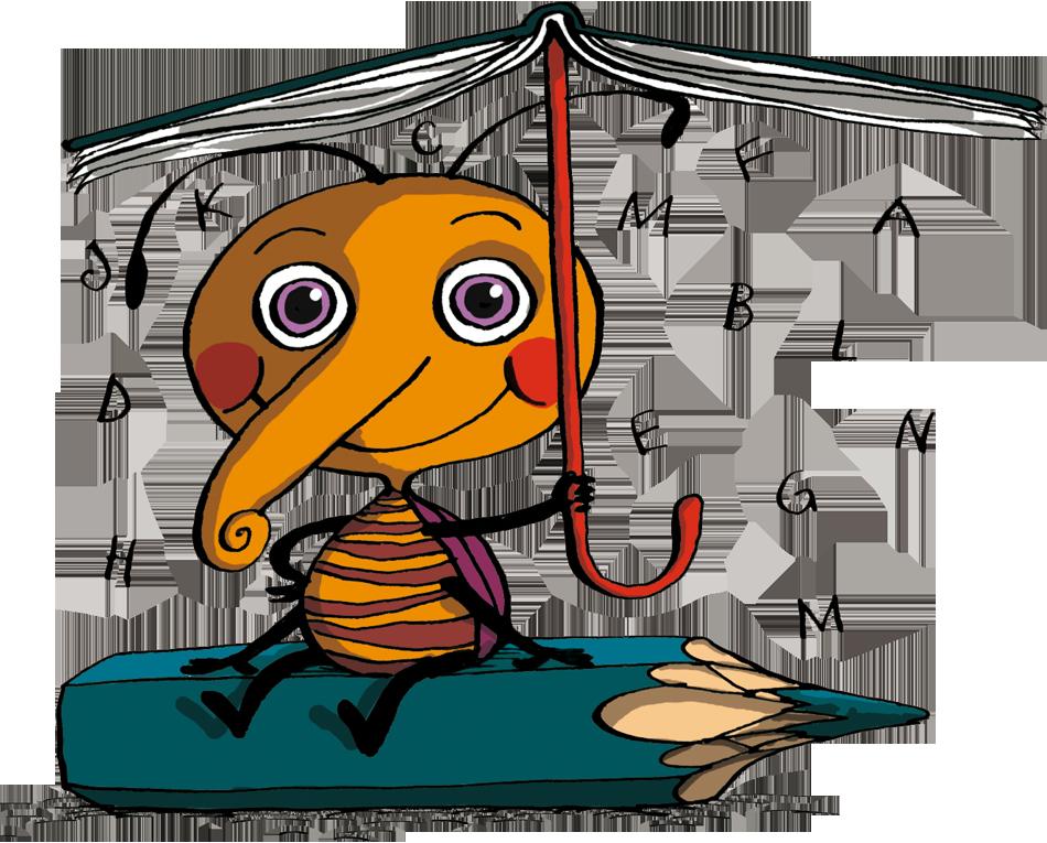 Čtipísek pod deštníkem